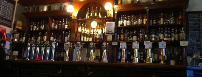 The Bow Bar is one of Edinburgh.