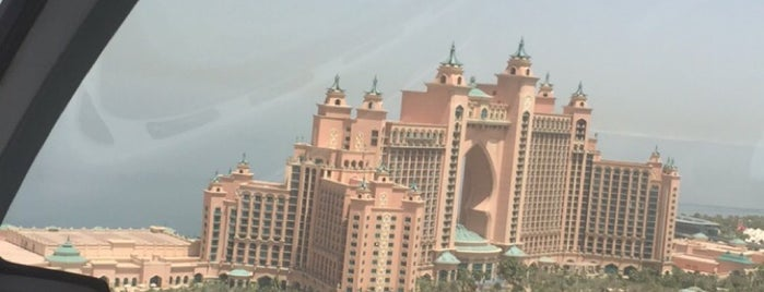Atlantis Helipad is one of Best places in Dubai, United Arab Emirates.