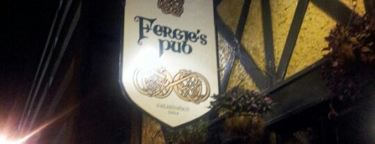 Fergie's Pub is one of Bars.