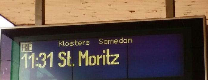 Bahnhof Schiers is one of Bahnhöfe Top 200 Schweiz.