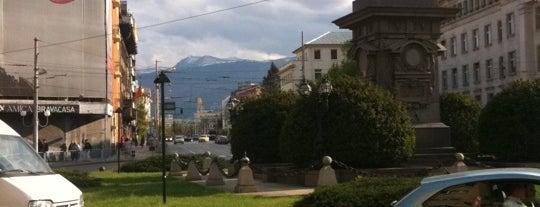 Паметник на Васил Левски (Vassil Levski Monument) is one of Top picks for Plazas.