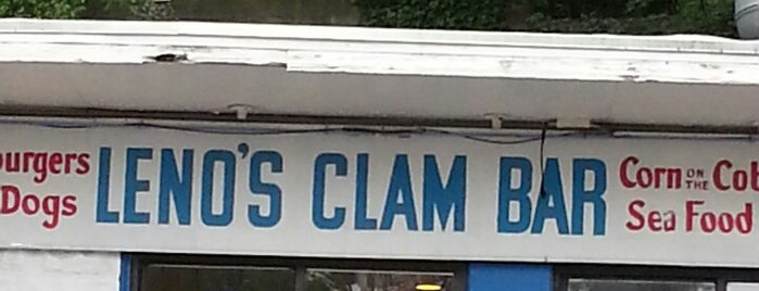 Leno's Clam Bar is one of Westchester Cheap Eats.