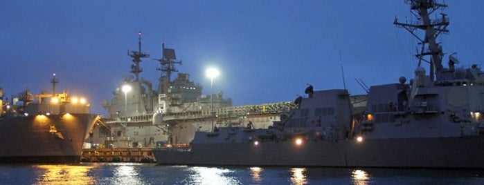 Naval Station Norfolk is one of Documerica.