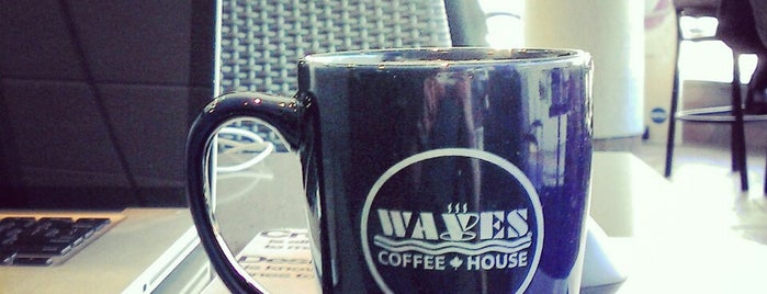 Waves Coffee House is one of Cafes to go to.