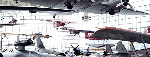 The Museum of Flight is one of Seattle spots.