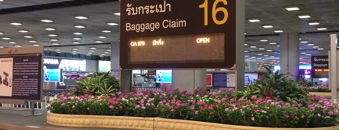 Baggage Claim 16 is one of TH-Airport-BKK-1.