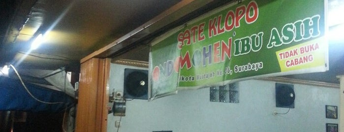 Sate Klopo Ondomohen is one of Culinary Best Spot.