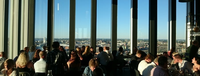 Malmö Live Skybar is one of Markus's tips.