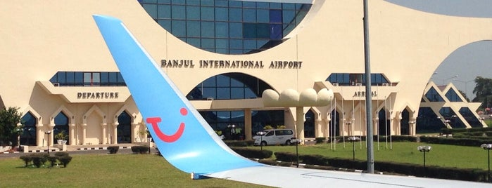 Banjul International Airport (BJL) is one of Airports visited.