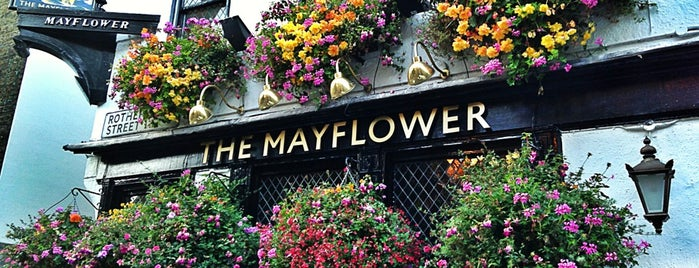 The Mayflower is one of London pubs.