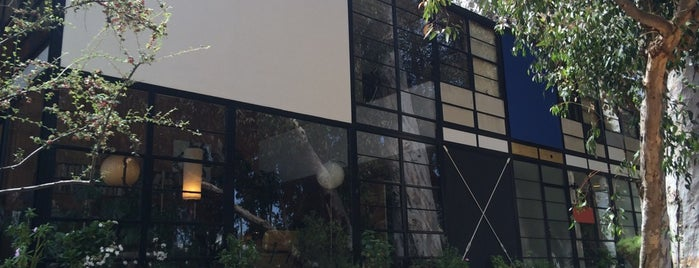 The Eames House (Case Study House #8) is one of Guide to Los Angeles's best spots.