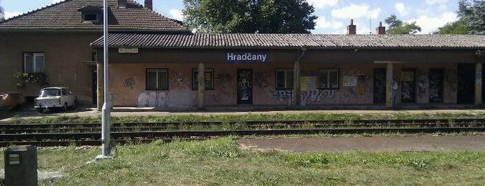 Železniční stanice Hradčany is one of Železniční stanice ČR: H (3/14).