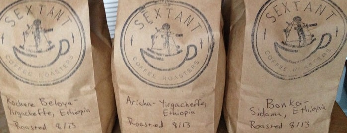 Sextant Coffee Roasters is one of SF Eats.