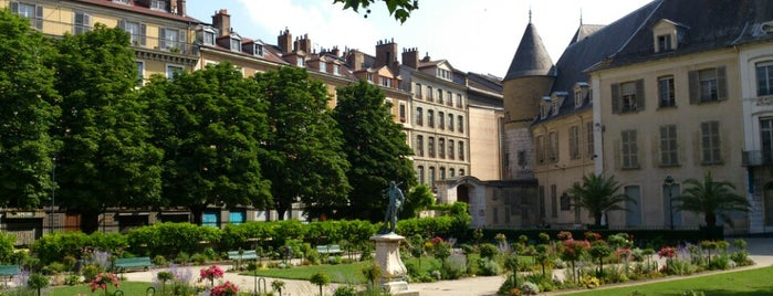 Jardin de Ville is one of Top 10 favorites places in Grenoble, France.