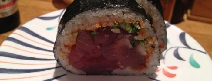 Kulu Kulu Sushi is one of LDN.