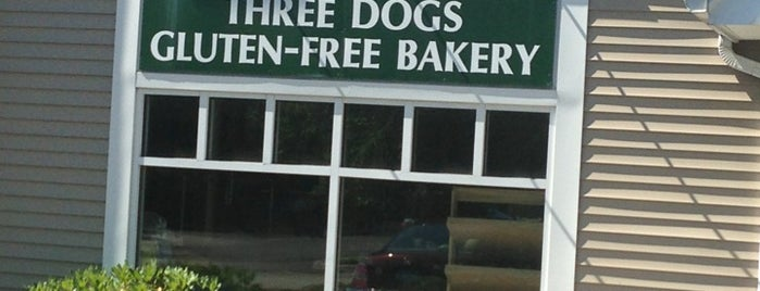 Three Dogs Gluten-Free Bakery is one of ThankYouForCaring Discounts Briarcliff.
