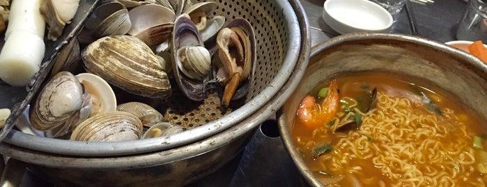 한남조개구이 is one of Itaewon food.