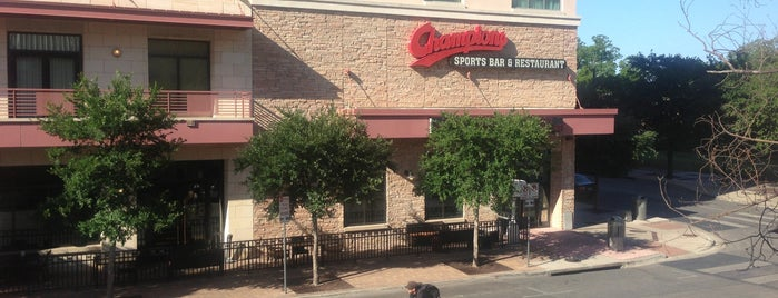 Champions Restaurant & Sports Bar is one of Speakmans SXSW Venues in Austin.