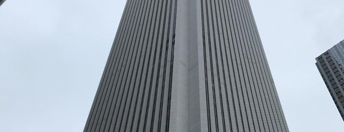 Aon Center is one of Work.
