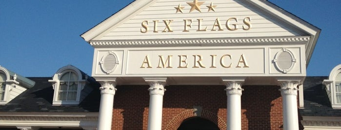 Six Flags America is one of Top 10 favorites places in Washington D.C., DC.