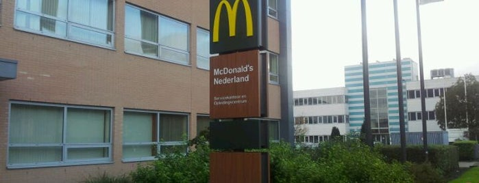 McDonald's Nederland HQ is one of Alle McDonald's in Nederland.