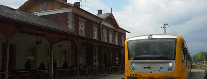 Trutnov hlavní nádraží is one of Železniční stanice ČR: Š-U (12/14).