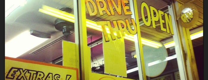 Rosie's Drive In is one of favorites.