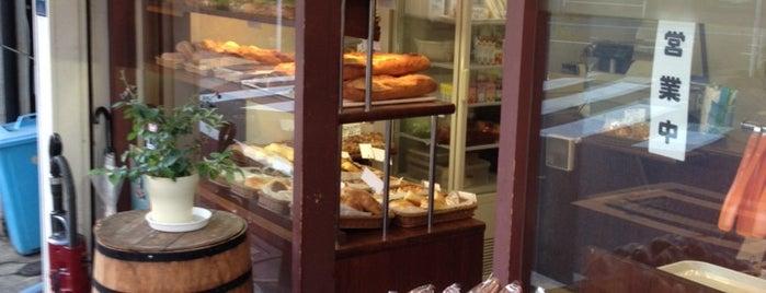 デュパン フランセ is one of Good bread.