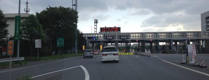 谷和原IC is one of 高速道路.