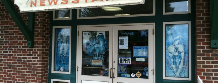 The Comic Store is one of Lancaster.