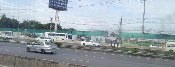 นิคมอุตสาหกรรมนวนคร (Navanakorn Industrial Estate) is one of Bkk - Lopburi Way.