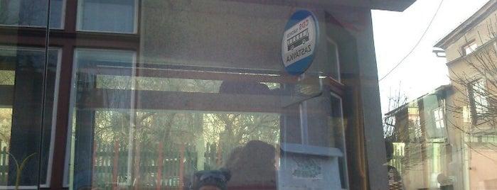 Autobusové nádraží Hronov is one of Hronov.
