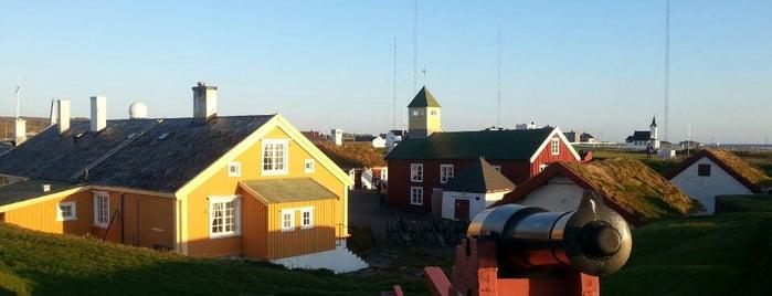 Vardøhus festning is one of Nasjonale Festningsverk.