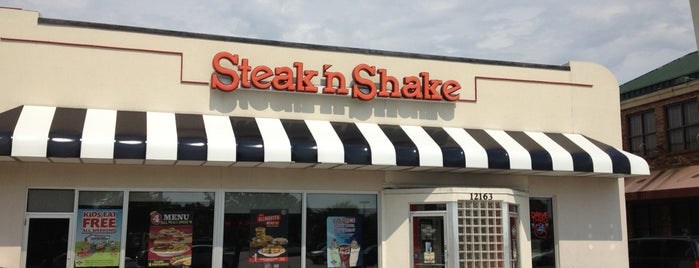 Steak 'n Shake is one of Lunch Run!!!.
