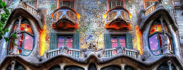 Casa Batlló is one of Favorite Places Around the World.