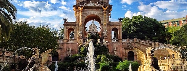 Parc de la Ciutadella is one of My Favorites in Spain.