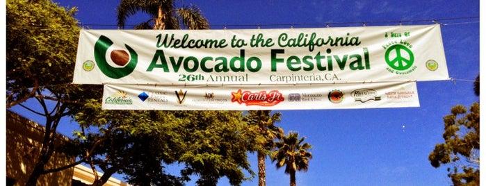 California Avocado Festival is one of Spin the Globe in Santa Barbara.