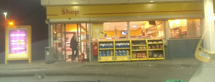 BP is one of Shell Tankstations.