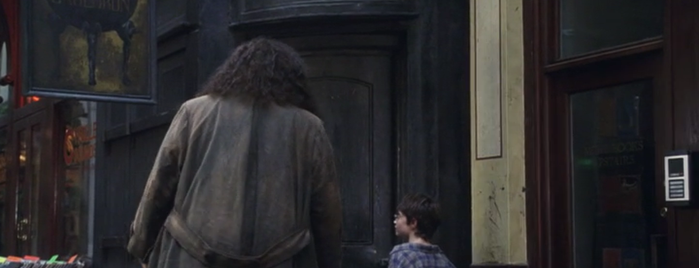 Harry Potter & The Mayor Of Diagon Alley