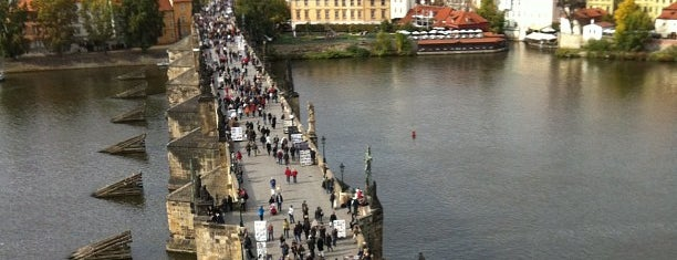 Charles Bridge is one of Favorite Places Around the World.