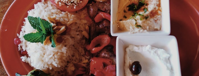Baba Ghanouj is one of KCET Food - Free Lunch.