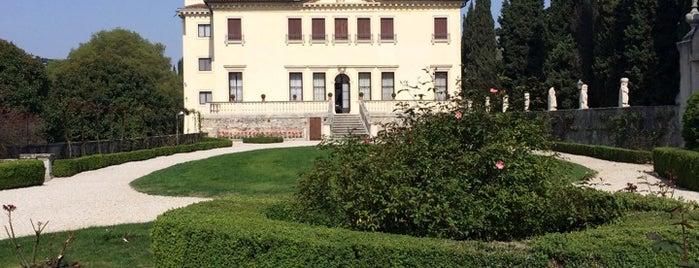 Villa Valmarana is one of Matteo's tips.