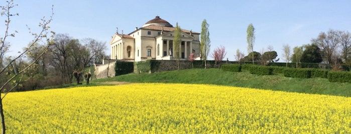 Villa Almerico Capra - la Rotonda is one of Matteo's tips.