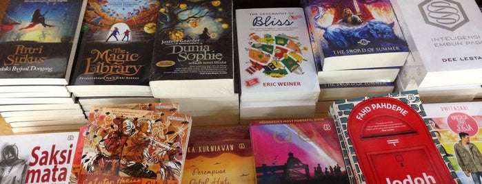 Gramedia is one of Bookworm Bender Badge.