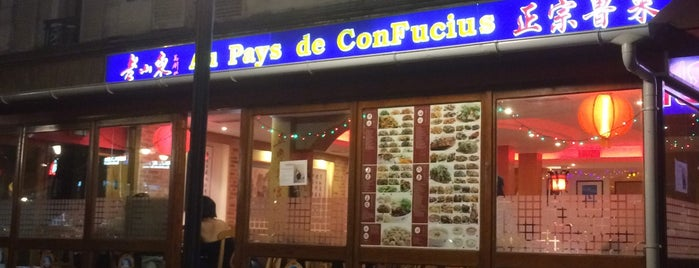 Au pays de Confucius is one of Paris.