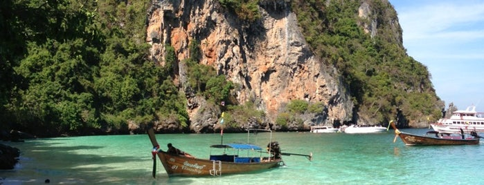 Phi Phi Island is one of Favorite Great Outdoors.