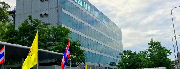Airport Operations Building (AOB) อาคารสำนักงานท่าอากาศยานสุวรรณภูมิ is one of TH-Airport-BKK-1.