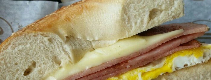 Manhattan Bagel is one of Favorite Food.