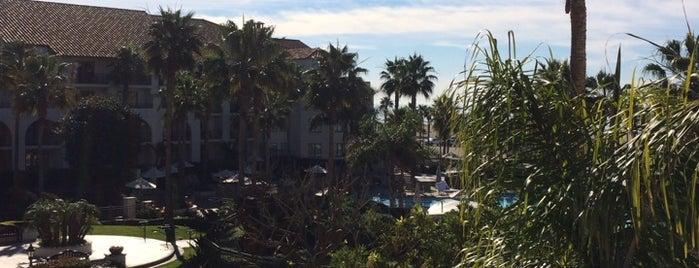 Hyatt Regency Huntington Beach Resort and Spa is one of Amy's tips.