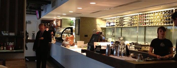 Fonté Café & Wine Bar is one of Top 10 Best Cups of Coffee in Seattle.